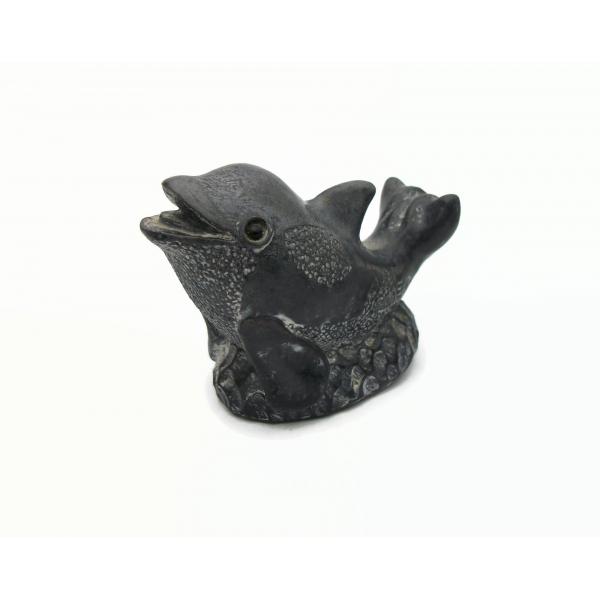 Vintage Wolf Originals Inuit Style Dolphin Figurine