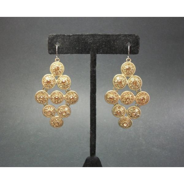 Monet chandelier drop earrings