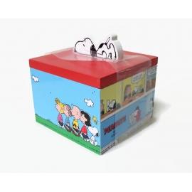 Peanuts Comic Strip Themed Wood Box Snoopy Charlie Brown Woodstock