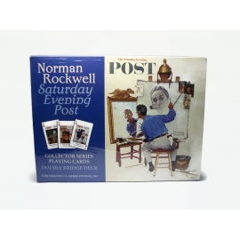 Norman Rockwell Collector Series Playing Cards Double Bridge Deck New NIB